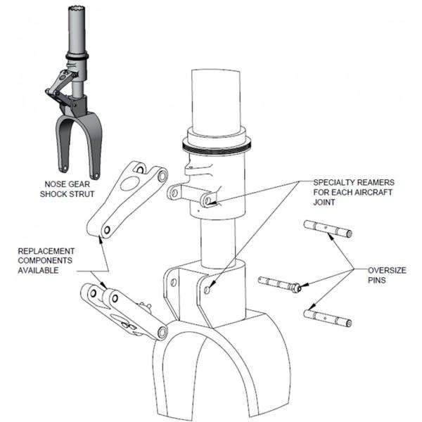 C208/C208B Torque Link Repair STC